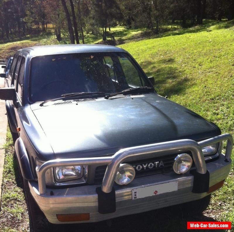 Toyota 1991 SR5 4Runner 4X4 Auto