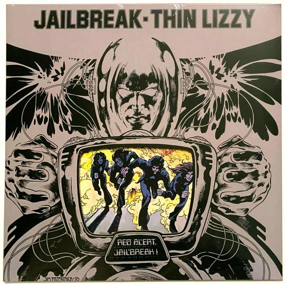 Thin Lizzy Jailbreak Current Pressing Lp Vinyl Record Album Sealed Jail Break Ebay In 2020 Vinyl Record Album Lp Vinyl Vinyl Records