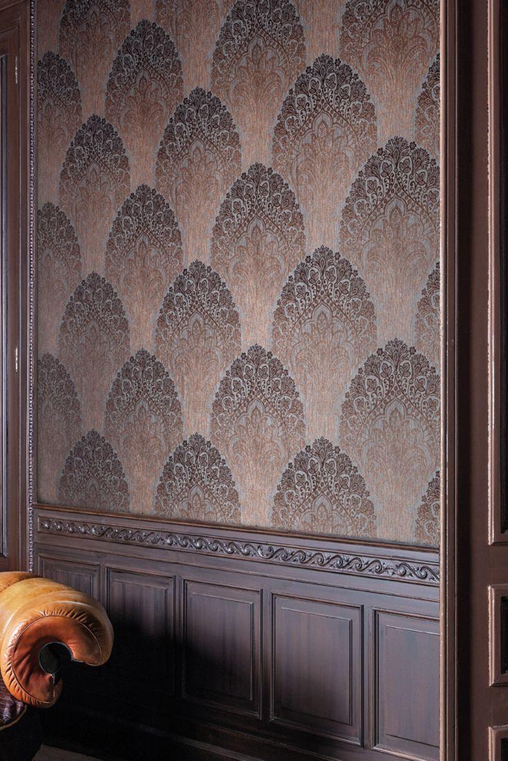 tapeten design tolle ideen wandgestaltung piet hein eek, tapete spectre bronze in 2018 | tapeten im metallic-look | pinterest, Design ideen