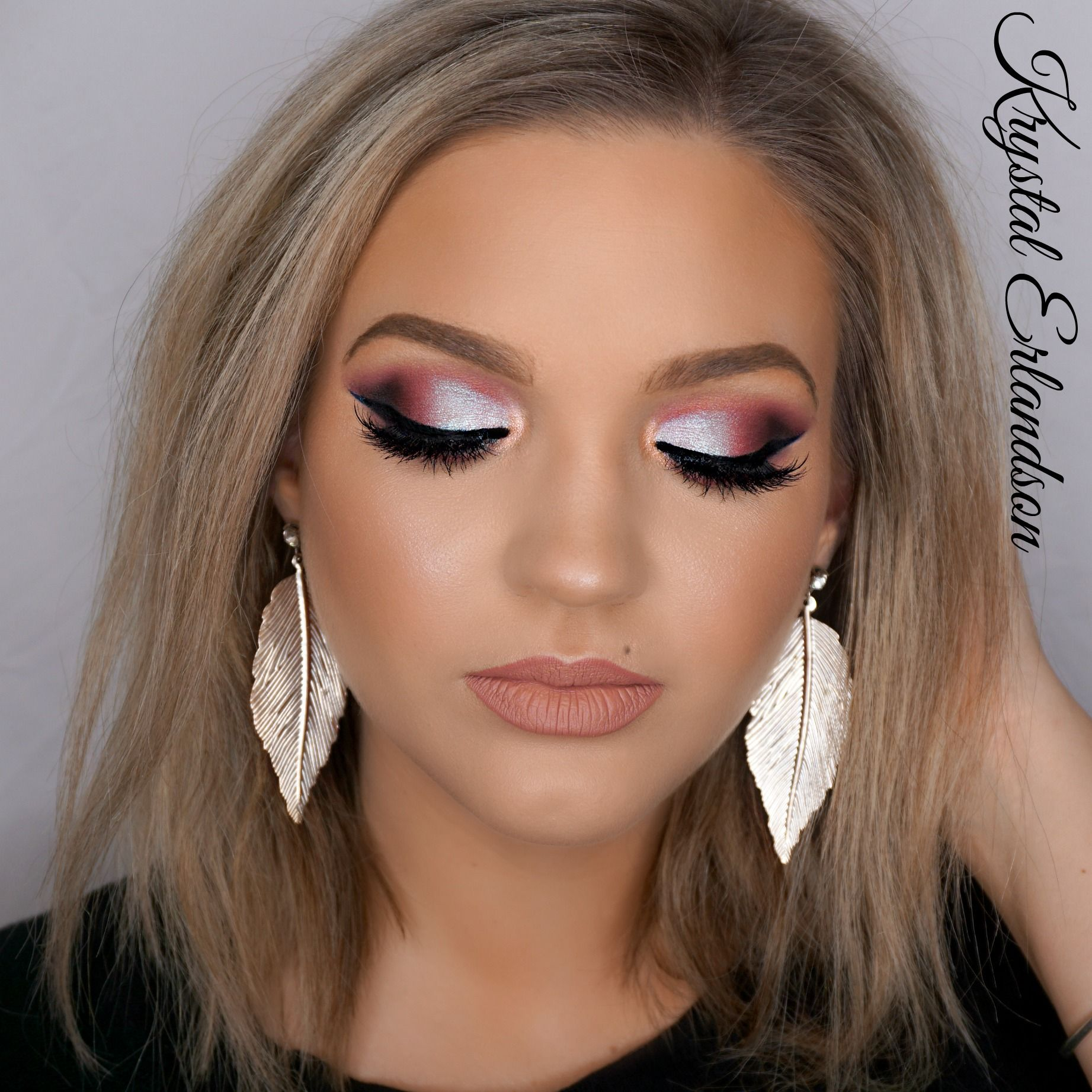 Pin On Dramatic Glam Makeup Looks
