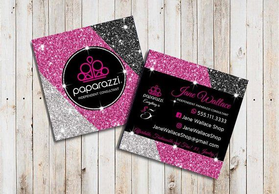Paparazzi Business Cards Vistaprint Paparazzi Business Cards Template Paparazzi Accessories Paparazz Jewelry Business Card Glitter Business Cards Card Template