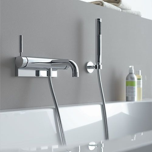 Dornbracht Tara Logic Wall Mount Tub Filler W Amp W O
