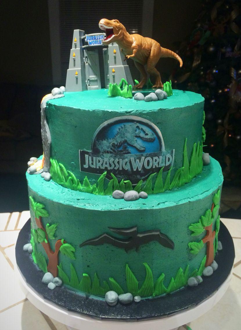 Jurassic World Cake Jurassic World Cake Jurassic Park Birthday