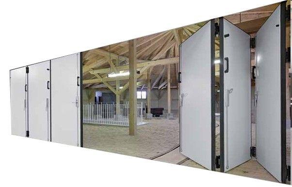 Image result for industrial folding doors | Room divider | Pinterest ...
