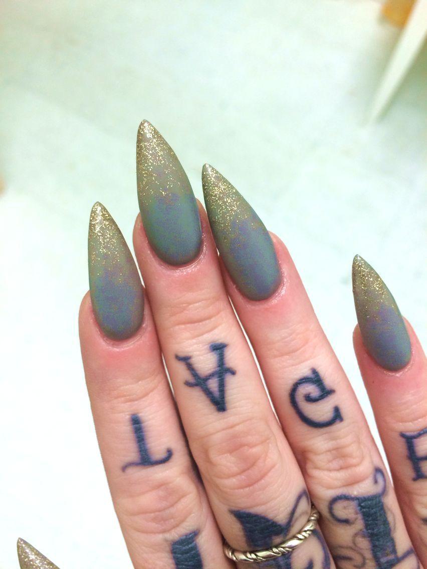 36 Prettiest Khaki Nail Art Ideas You Ll Love Nail Nail