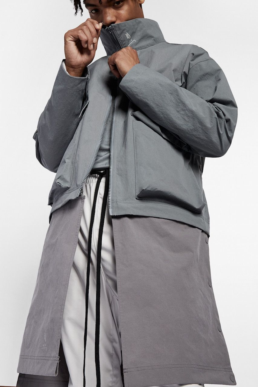 An Exclusive Closer Look At The A Cold Wall X Nike Collaboration A Cold Wall Overcoats Menswear [ 1280 x 853 Pixel ]