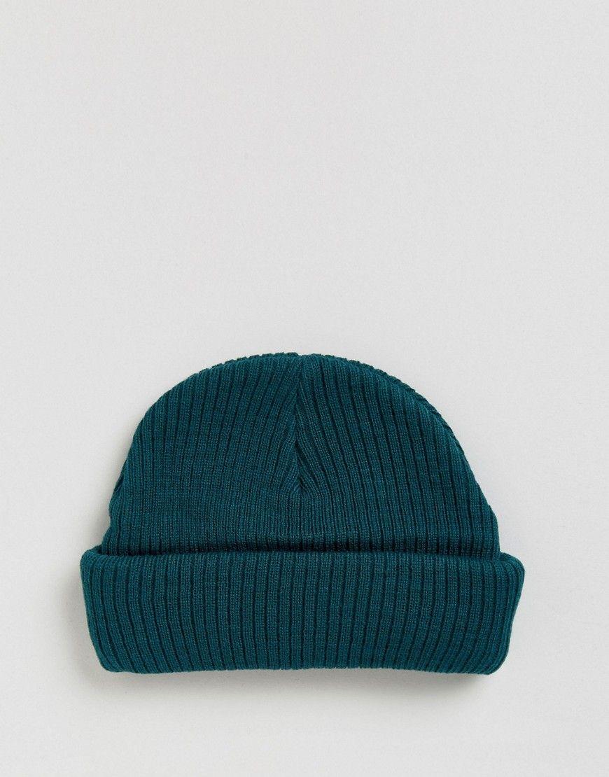d66edf7fd Mini Fisherman Beanie In Teal | beanie$ | Beanie, Asos, Knitted hats