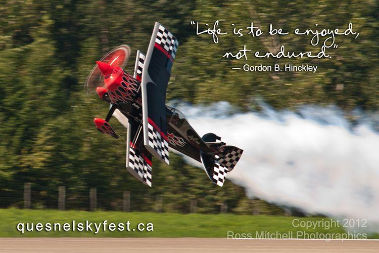 #QuesnelSkyfest Skip Stewart airshows at Skyfest 2012
