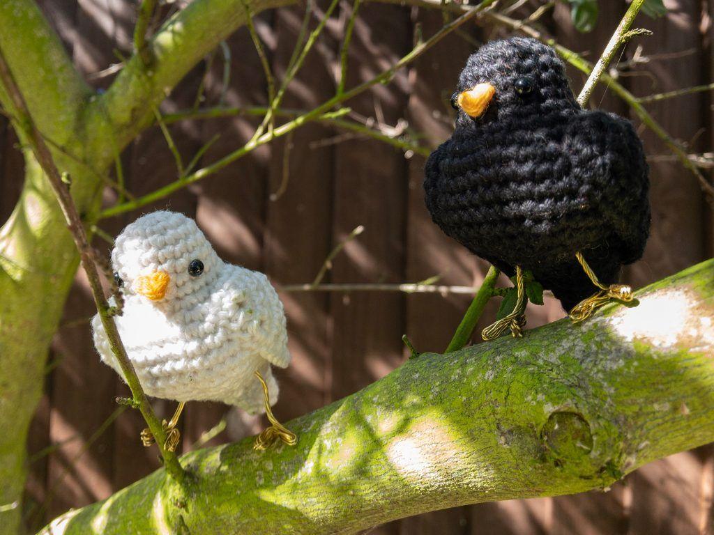 Kleiner Vogel Kostenloses Hakelmuster Kostenlose Hakelmuster