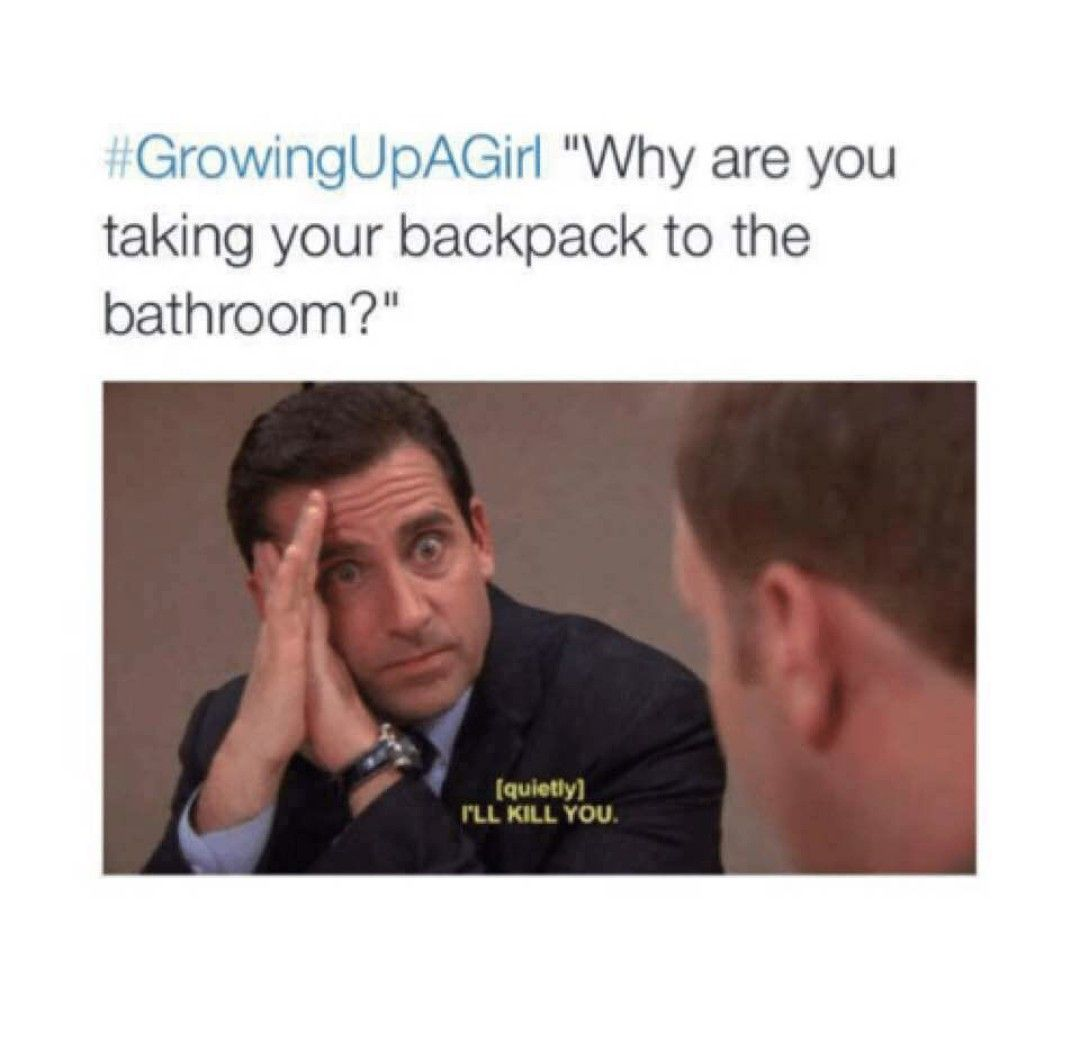 Growing Up A Girl Meme Funny Crazy Growing Up Girl Period Troubles Girls Friends Toilet Percy Jackson Funny Funny Memes About Girls Girl Humor