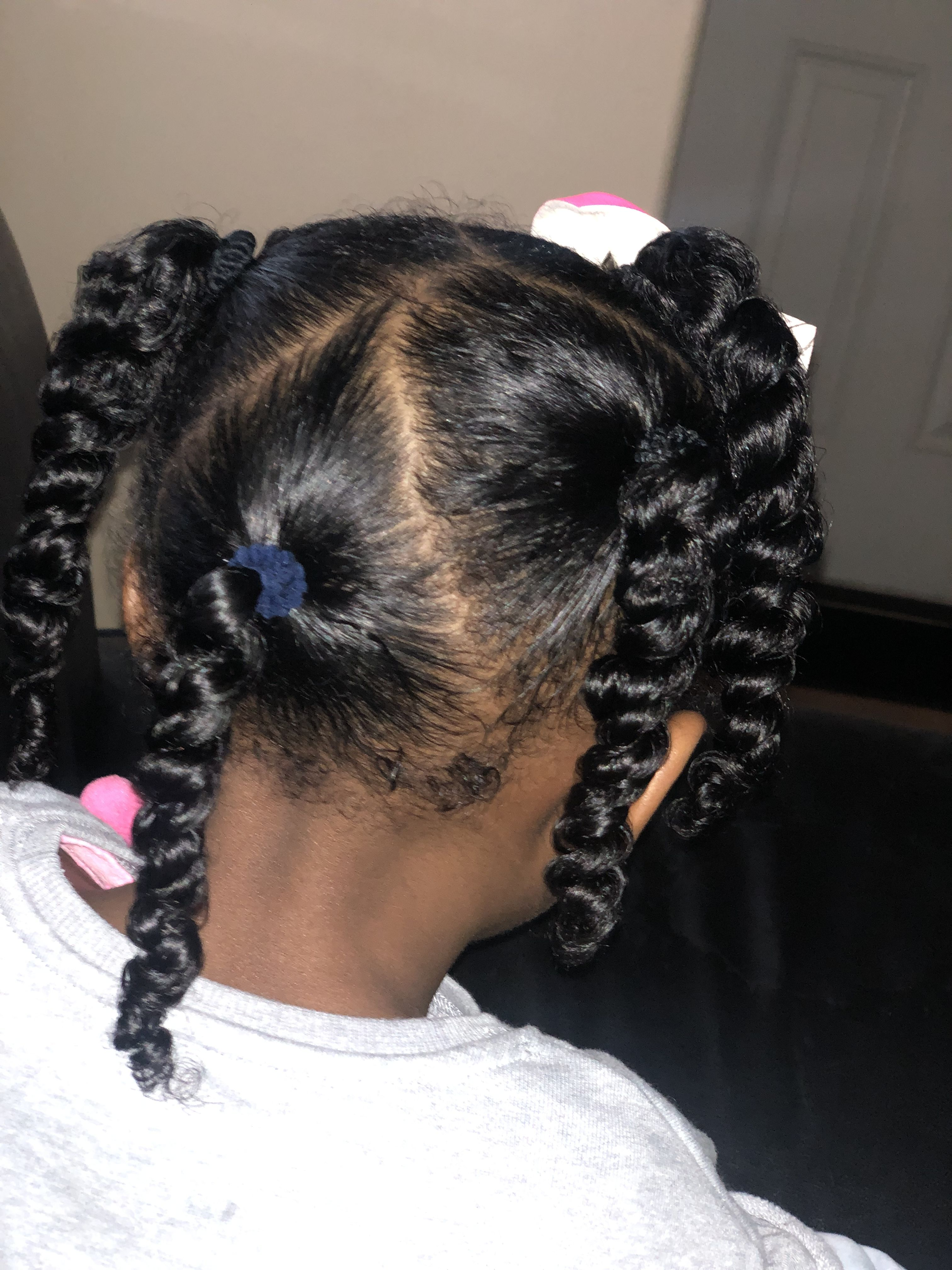 Children's hairstyle, natural hair, curly hair, easy ...