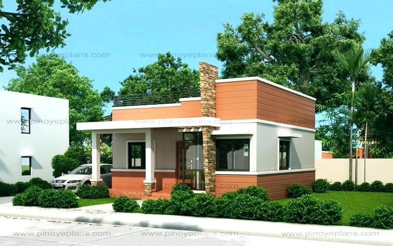 Modern Native House Design Small House Design Floor Plan Code Small Bamboo House Design Small House Design Modern Flat Roof House Small House Design House Roof