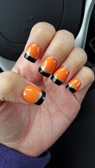 Halloween Nails! | Halloween acrylic nails, Halloween ...