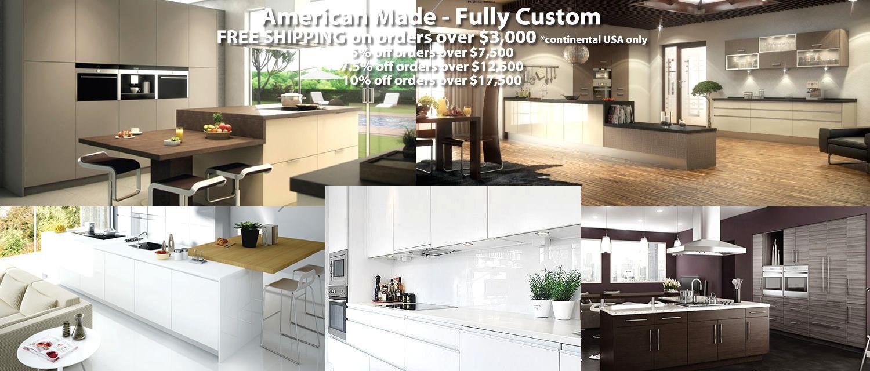 Modern Custom RTA Cabinets - Made in USA | Cheap kitchen ...
