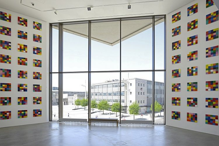 ARTIST ROOMS - Gerhard Richter, John Hansard Gallery. Photo - Nigel Green