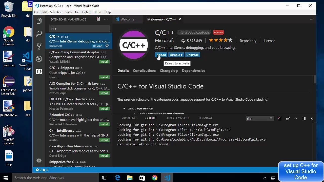 how to run visual studio code