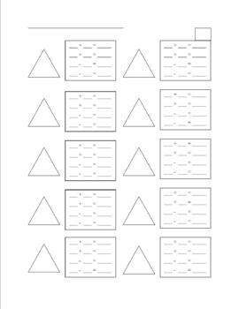Addition and Subtraction Fact Families Worksheet | Homeschool - Math ...