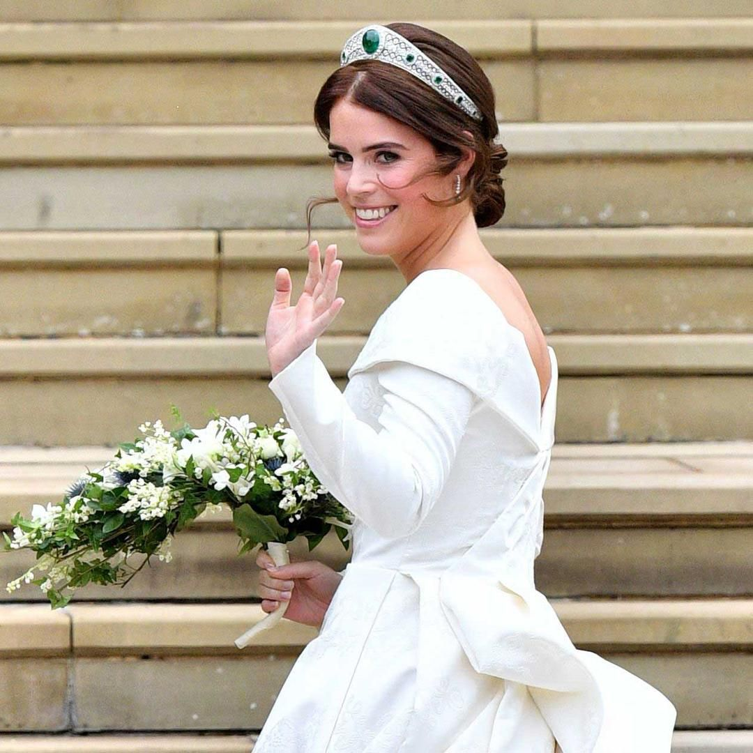 A brilliant choice Princess Eugenie's wedding tiara (With