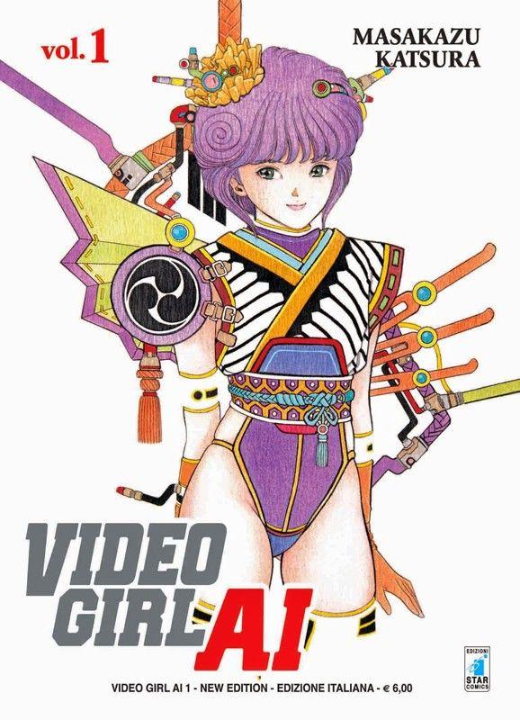 Video Girl Ai New Edition Edizione Star Comics 9 Volumi Animais