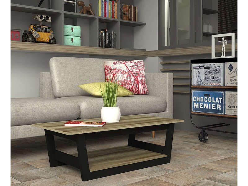 Table Basse Bicolore 552235 Table Basse Table Basse Conforama Idee Deco