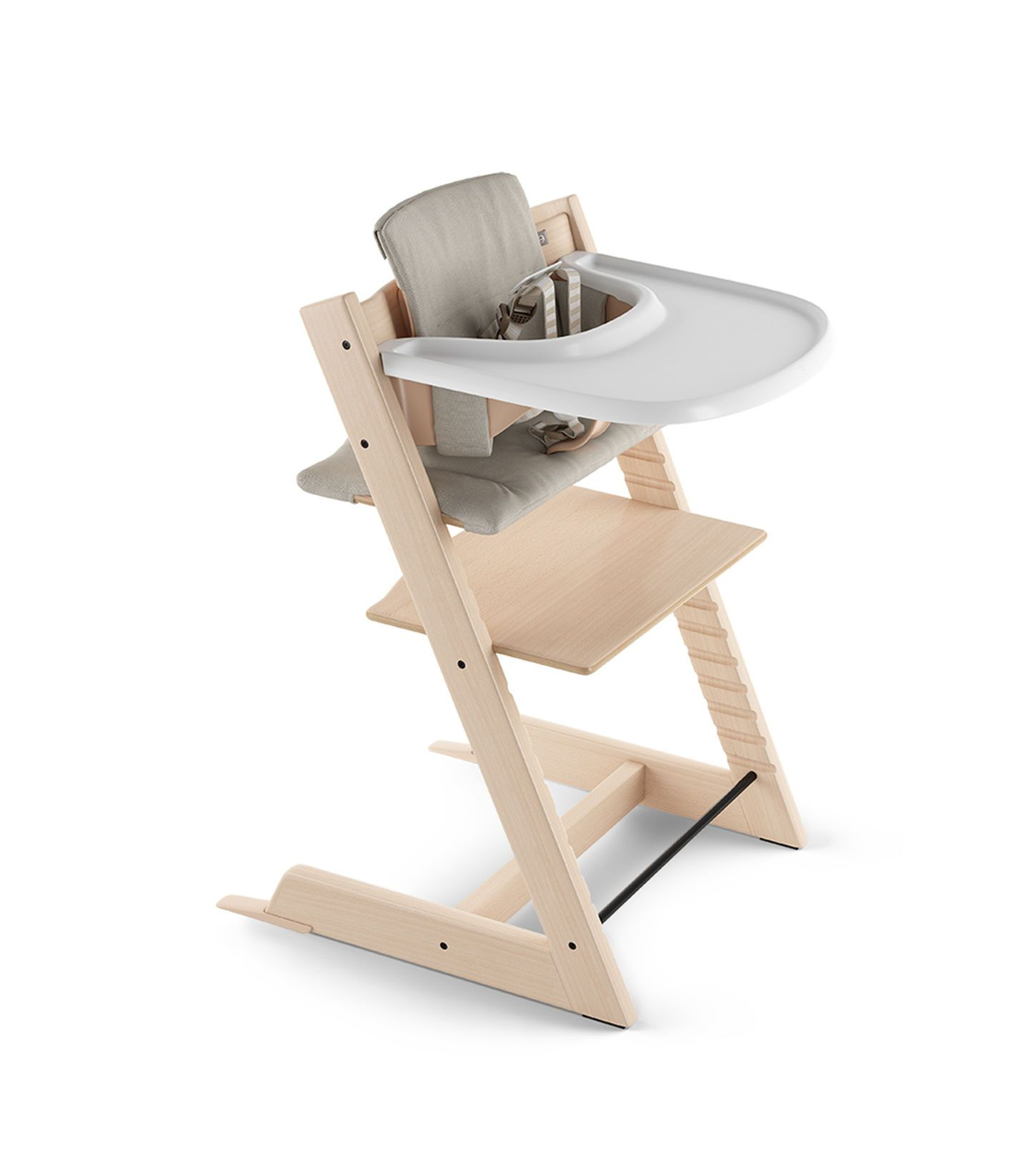 Tripp Trapp Hc Cpl Natural W Honeycomb Happy Cushion Tray Baby High Chair Tripp Trapp Chair Stokke
