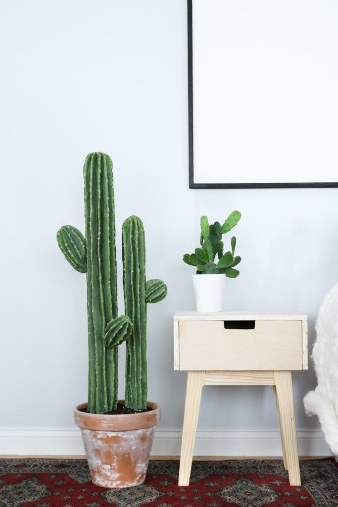 Cute Cactus DIY Plant is part of Cactus Plant decor - Cute Cactus Decor Last Friday was the first day of this Cactus DIY journey  Where do I even begin🙈  This cute cactus definitely took me for a spin  Jumping into this DIY I knew it would be a hard one since I've never seen anything like this done before but, I sure wasn't prepared for …