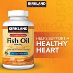 Kirkland Signature™ Fish Oil 1000mg. 400 Softgels