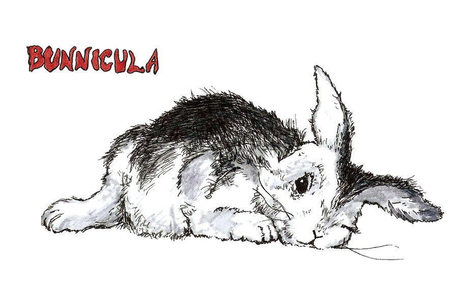 Bunnicula By Echo Cafe Deviantart Com On Deviantart Book Drawing Book Wizard Art
