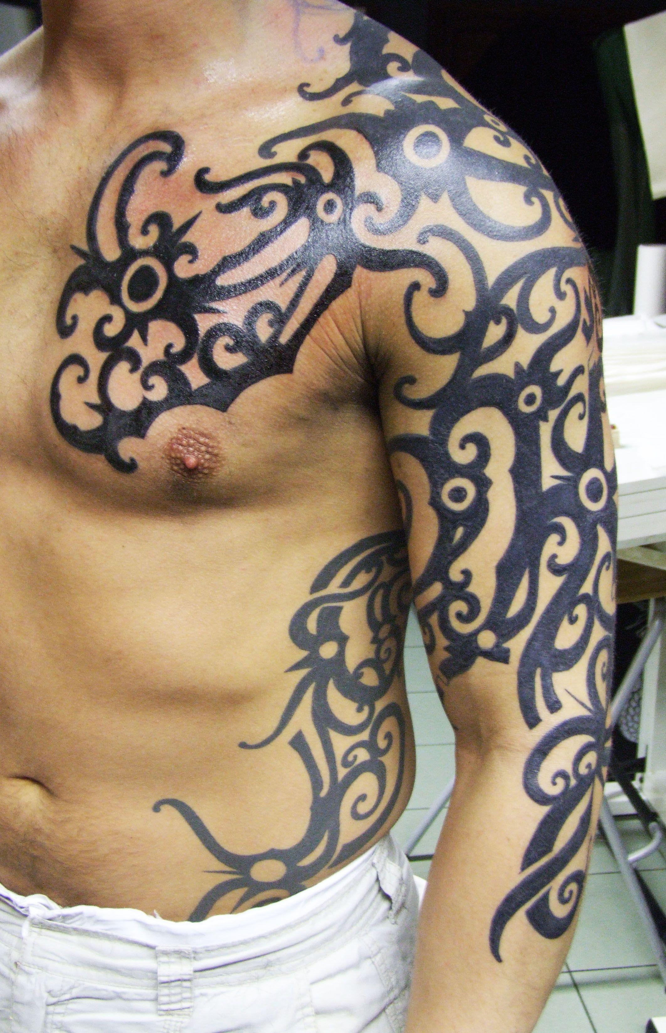 borneo tattoos design by blind nobility blindnobility2014 czs v ll tattoo borneo. Black Bedroom Furniture Sets. Home Design Ideas