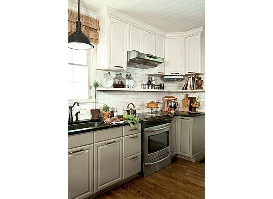 Best Grey Base With White Upper Cabinets With Images 400 x 300