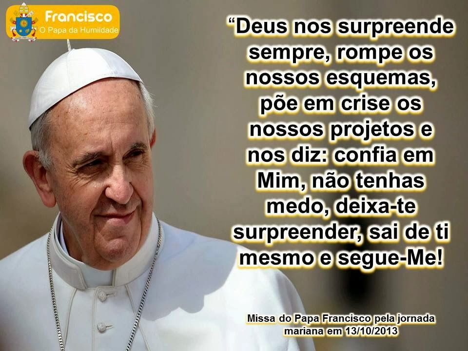 Ternura Em Feltro Deus Sempre Nos Surpreende Papa Francisco