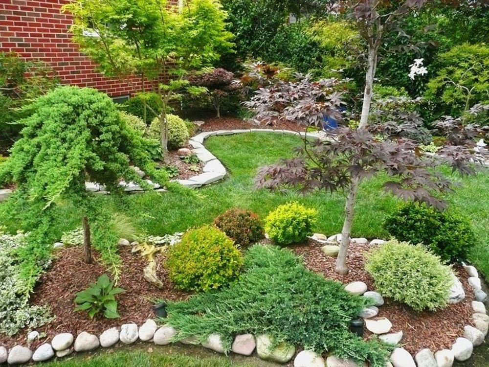 47 Neat Clean Japanese Front Yard Landscaping Ideas ...