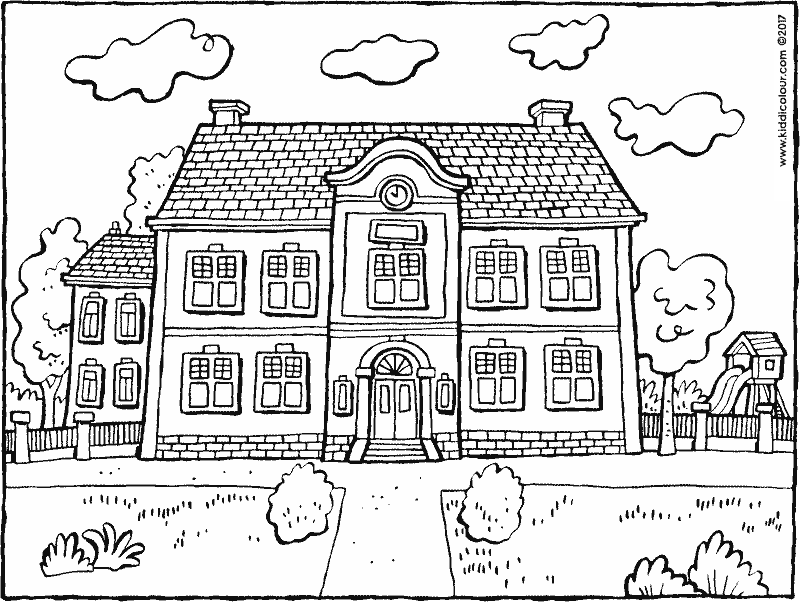 buildings colouring pages kiddicolour Coloring pages
