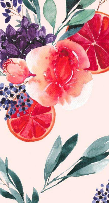 Super spring wallpaper iphone floral prints desktop wallpapers ideas