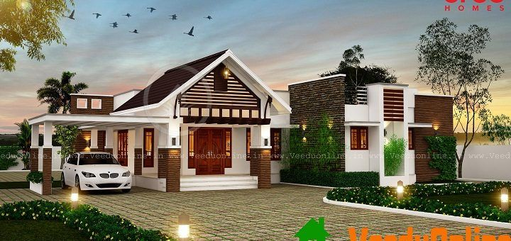 Veeduonline Page 36 of 109 Kerala Home Designs & Free Home Plans