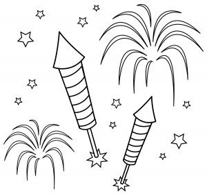 Diwali Fireworks Colouring Pages How To Draw Fireworks Fireworks Pictures Colouring Pages