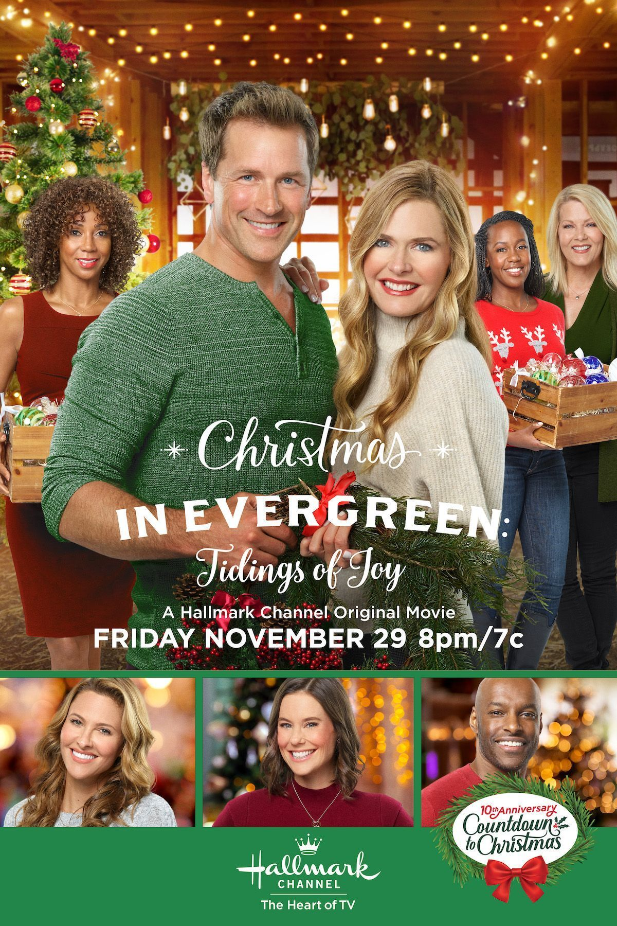 Christmas In Evergreen 2020 Cast Paul Greene and Maggie Lawson (When Calls the Heart) join the all