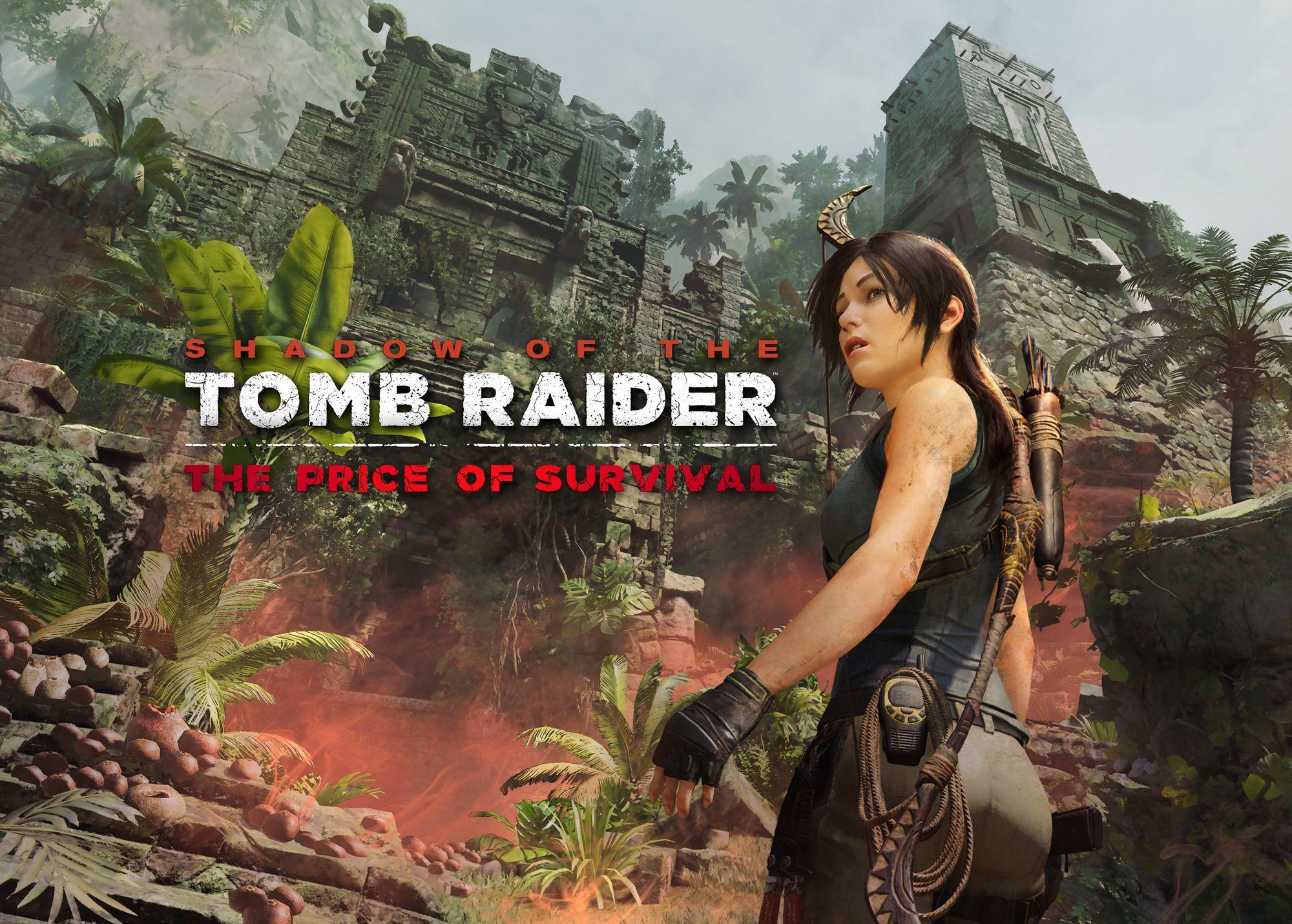 古墓奇兵 暗影 Dlc The Price Of Survival 今日發售 動作 Steamxo Tomb Raider Tomb Tomb Raider Lara Croft