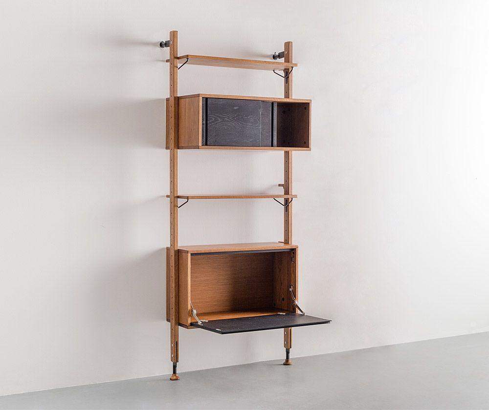 Dexter Modular Shelf with Cabinet | Dexter, Shelves and Kitchen living