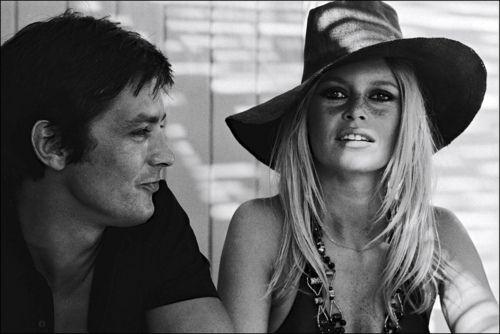 Alain Delon Brigitte Bardot In 1968 Con Imagenes Brigitte