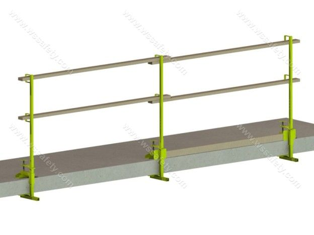 Best Versa Clamp Temporary Rooftop Guardrail Rooftop 400 x 300