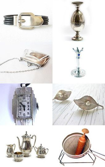 Buckle Up - Time For the Epsteam Holiday Silver Gift Guide Parade by Melissa and Raymond--Pinned with TreasuryPin.com