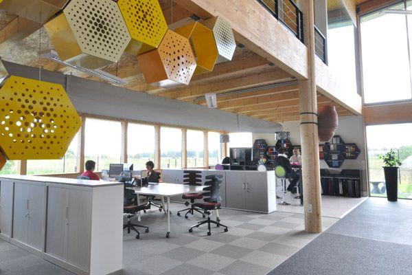 """Ecoffice, espace de travail dit """"espace de production"""""""