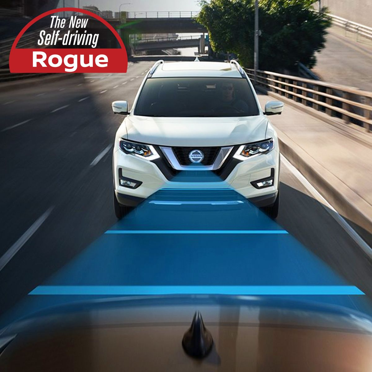 LEVEL 2 SELF DRIVING NISSAN ROGUE with ProPILOT Assist