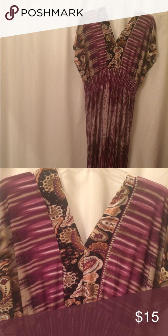 87ea06c8b3 Ace Fashion multi-colored maxi dress