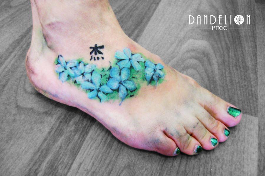 Tattoo: Jasmine flower...
