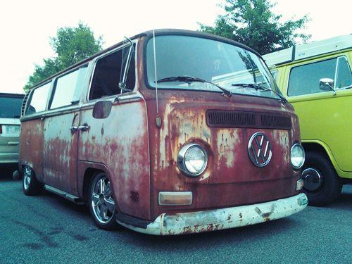 Early Bay Passenger Vw Bus Volkswagen Car Volkswagen