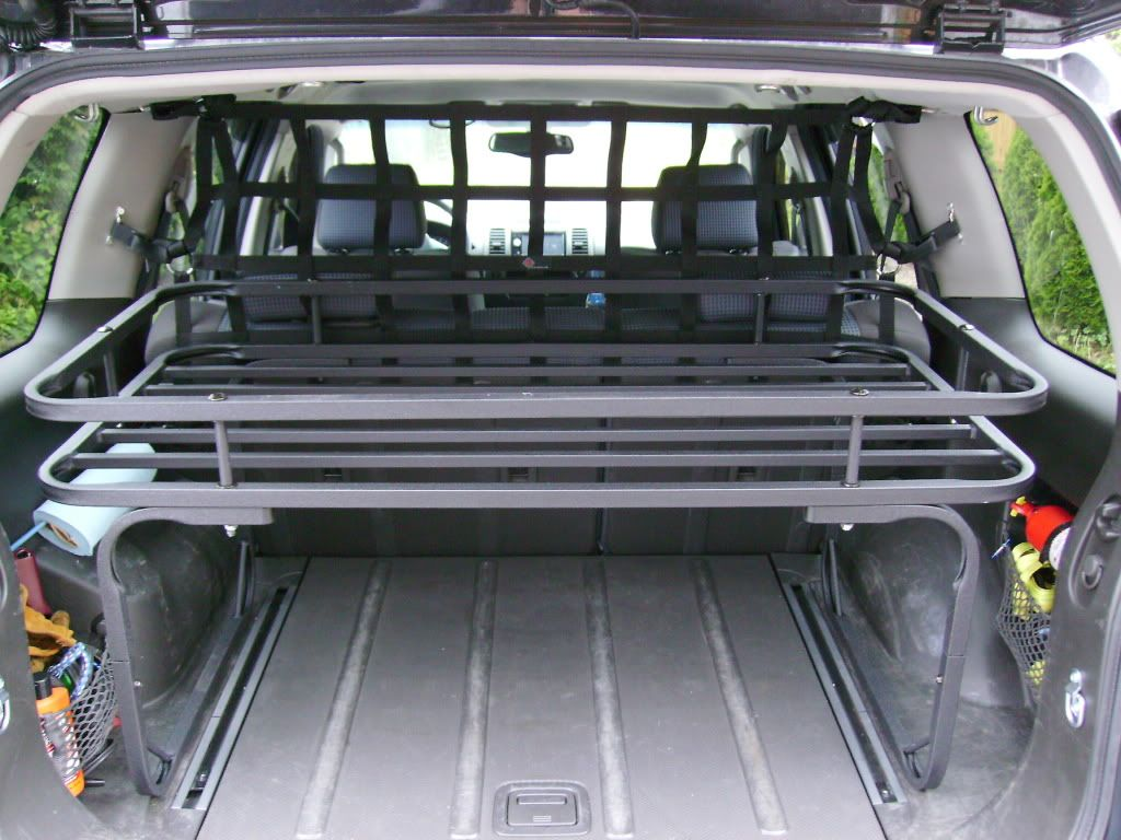 Rear cargo rack pic heavy second generation nissan xterra forums 2005 xterra for Nissan xterra interior accessories
