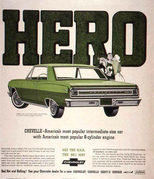 Print Ad] 1965 Chevelle Malibu SS Coupe | 1965 Chevelle