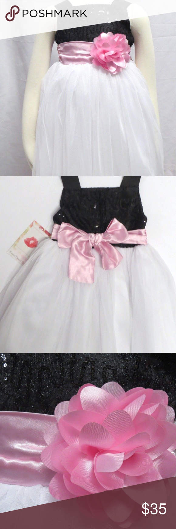 b739c96c7 Toddler Sequin Tulle Ballerina Special Occasion 2T SWEET HEART ROSE ...